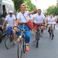 'Peace Road' Is Held in Shkodra, Albania