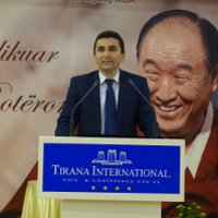 Albanians Commemorate UPF Founder