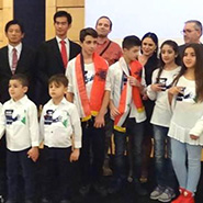UPF-Albania Supports 'Prayer Night for Syrian Children'