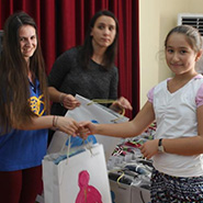 UPF-Albania Gives School Supplies to Orphans