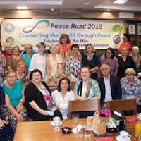 Peace Day Celebrants Recall Balkans Peace Road tour