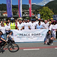 Peace Road Event Connects Austria, Slovenia