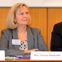 Mrs. Carolyn Handschin, Vice President, Women's Federation for World Peace International (WFWPI)