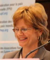 Lynn Walsh, co-chair of UN NGO Committee on  the Family in New York
