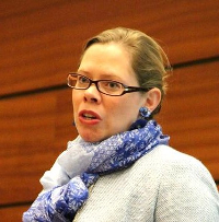 Maria Hildingsson, Secretary General of FAFCE