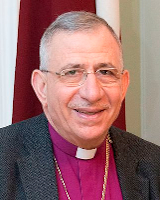 The Right Reverend Munib Younan, Bishop Emeritus of the Evangelical Lutheran Church in Jordan and the Holy Land