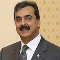 Intervention of H.E. Syed Yusuf Raza Gilani in the rally of hope on 9 August 2020.