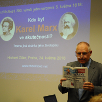 Czech Audience Discovers the Real Karl Marx