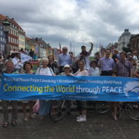Denmark Peace Road Event Has Ocean Theme