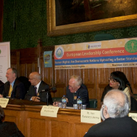 European Leadership Conference in London Addresses Human Rights
