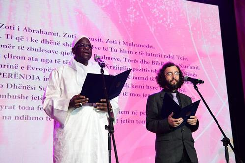Cheikh Mansour Diouf and Dr. Mikulas Vymetal