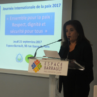 International Day of Peace Observed in Paris, France