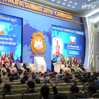 World Leaders gather for Asia Pacific Summit 2019 in Cambodia