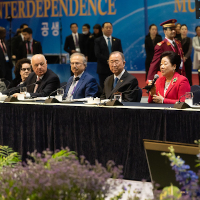 World Leaders Brave Coronavirus for Peace Talks in Asia - Universal Peace Federation Hosts World Summit 2020