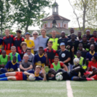 Monza, Italy—The 13th Trofeo della Pace (Peace Trophy), an interethnic seven-player football tournament organized by UPF, brought together 100 players from seven teams.
