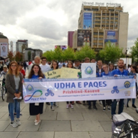 Kosovo Holds 'Peace Road' on International Day of Peace