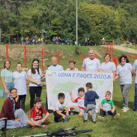 'Peace Road' Event Held on World Walking Day