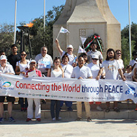 Malta 'Peace Road' Held on International Day of Peace