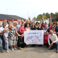 Netherlands Peace Road Held for Schoolchildren