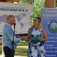 Peace Road Event Visits Norway-Sweden Border