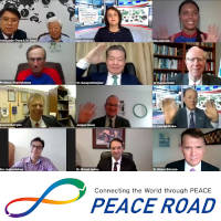 "Peace Road webinar on the theme ""Peace Road 2020 – Connecting People for Peace"""