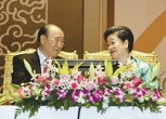 Rev. Sun Myung Moon and his wife, Dr. Hak Ja Han Moon, founded the Universal Peace Federation in 2005.