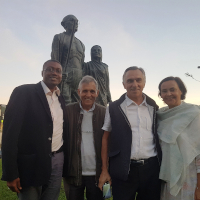 UPF-Portugal Attends Gandhi's 150th Birthday