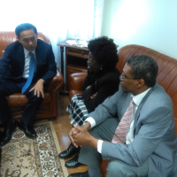 Youth Leader Meets Portuguese Ambassador for Peace
