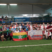 UPF Team Plays 'Football for Peace'