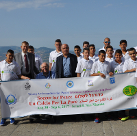 Children from Israel, San Marino Build Friendships Through Soccer