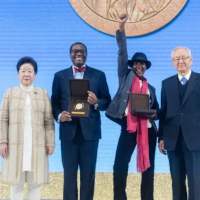 2019 Sunhak Peace Prize Awarded to Waris Dirie and Dr. Akinwumi Ayodeji Adesina