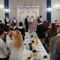 World Peace Blessing Held in Switzerland