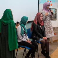 University Event Shows Islamic and Ukrainian Cultures