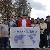Ukrainian Peace Road Leads into Poland